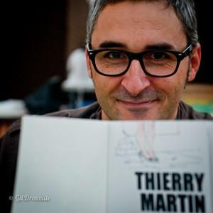 thierry Martin et sa dédicace